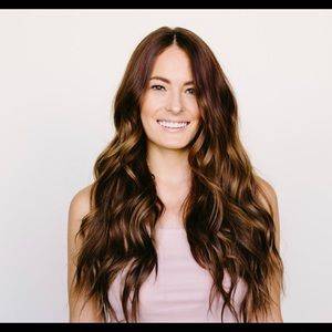 Hair Extensions In color Brownstone seamless